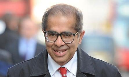 Freddy Patel arrives at Ian Tomlinson inquest