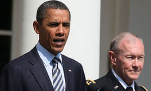 Barack Obama and General Martin Dempsey