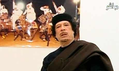 Muammar Gaddafi war crimes charge
