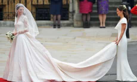 Royal Wedding - Kate and Pippa Middleton