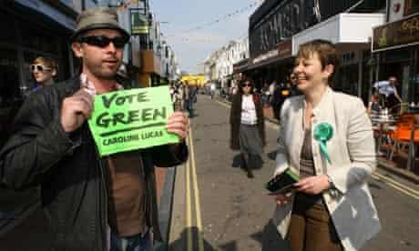 Caroline Lucas, Green Party