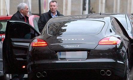 Dominique Strauss-Kahn Porsche