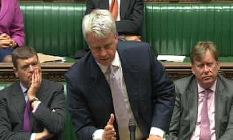 NHS debate with Andrew Lansley