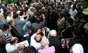 iran funeral