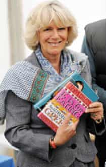 The Duchess of Cornwall at the Hay festival.