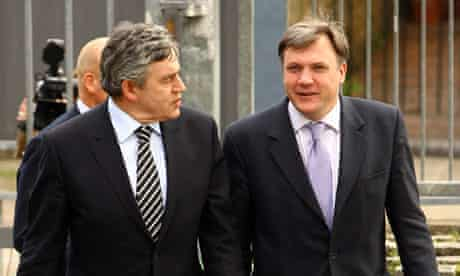 Gordon Brown Visits Acland Burghley School