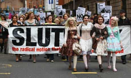 People March As The Slutwalk Arrives In Scotland
