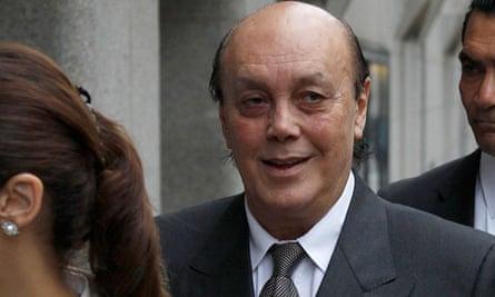 Asil Nadir at the Old Bailey