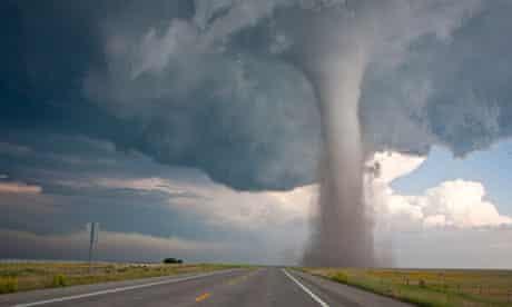 A tornado in Baca county, Colorado