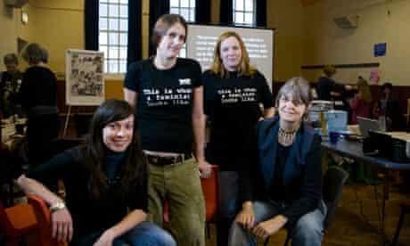 Feminists meeting in Bristol