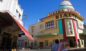 The 1930 art deco Rialto cinema-theatre on rue Mohammed Qorri in Casablanca, a Moroccan screen gem