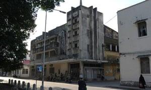 The Majestic cinema in Stone Town, Zanzibar: in need of TLC.