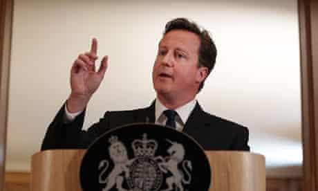 David Cameron prison speech