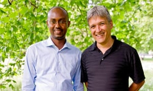 Jean-Francois Gisimba and Carl Wilkens
