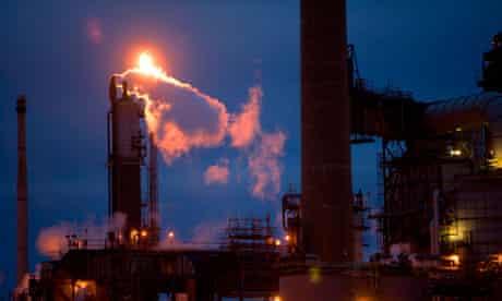 Gas emissions