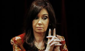 Argentina's president, Cristina Fernández de Kirchner