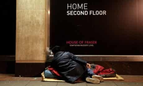 homelessness rising uk