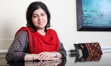 Sayeeda Warsi, co-chairman of the Tories, who says Pakistan fails Islam in denying women's rights
