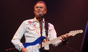 Glen Campbell in concert at the Royal Festival Hall, London