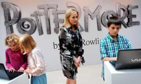 Pottermore website launch
