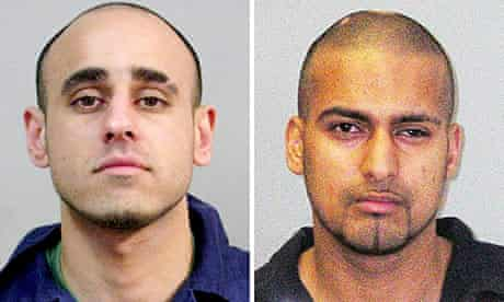 Abid Saddique (l) and Mohammed Liaqat, whose rape of young girls in Deby sparked the inquiry