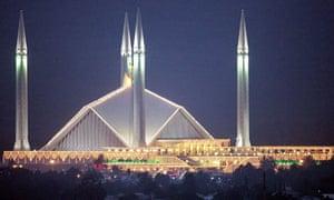 Pakistan's Faisal mosque