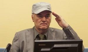 Ratko Mladic faces his accusers
