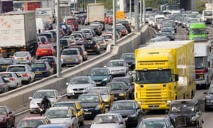 Road traffic in England