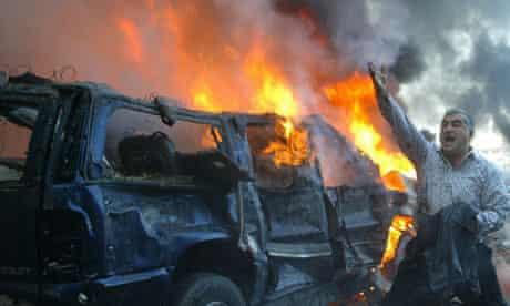 Rafiq al-Hariri car bomb