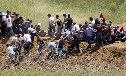 Syria Israel border protests