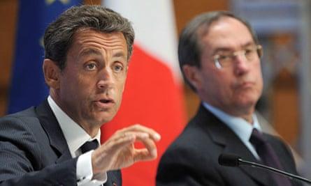 Nicolas Sarkozy and Claude Gueant