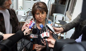France's Socialist Party leader Martine Aubry
