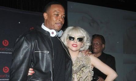 Dr Dre and Lady Gaga