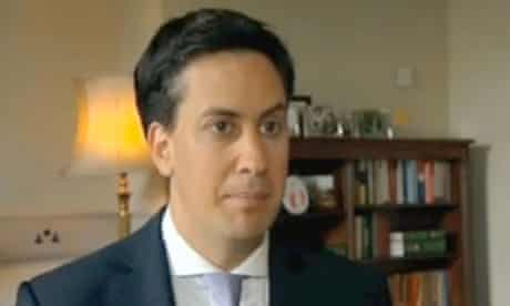 Ed Miliband replying to Damon Green's questions, June 2011