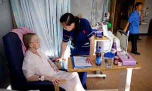 The elderly care assessment unit at Heartlands hospital