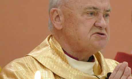 Former bishop of Cloyne, John Magee
