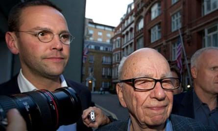Rupert Murdoch, James Murdoch