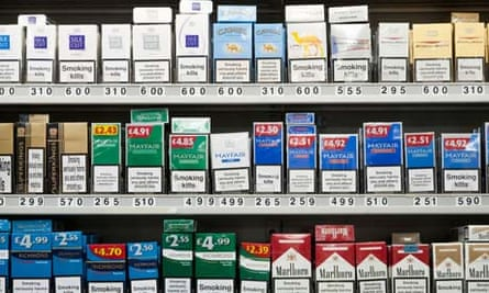 More than 80 MPs backed the campaign to exempt smaller shops from the cigarette display ban