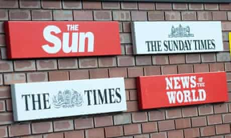 news international - the sun, the times, the sunday times, news of the world