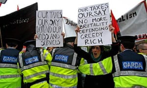 Irish protest
