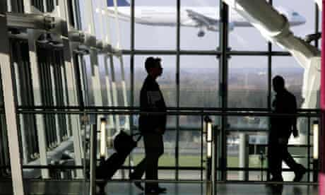 counter-terrorism powers airports