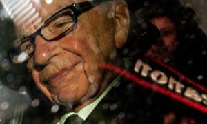 News Corp chief Rupert Murdoch