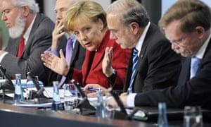 Angel Merkel eurozone leaders