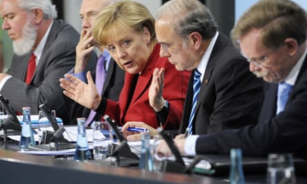 Angel Merkel eurozone leaders