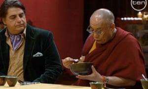 The Dalai Lama on MasterChef