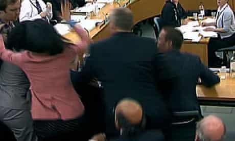 Wendi Deng defends Rupert Murdoch