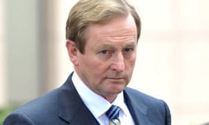 Irish prime minster Enda Kenny