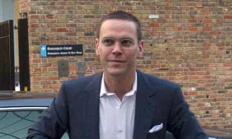 News International chairman, James Murdoch