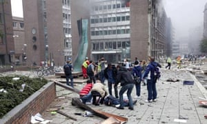 Norway attacks, Oslo explosion