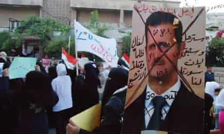 syrian-protest-assad-damascus